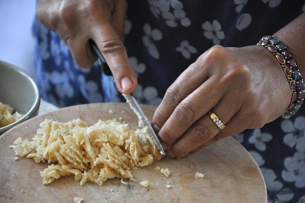 Hand chopping